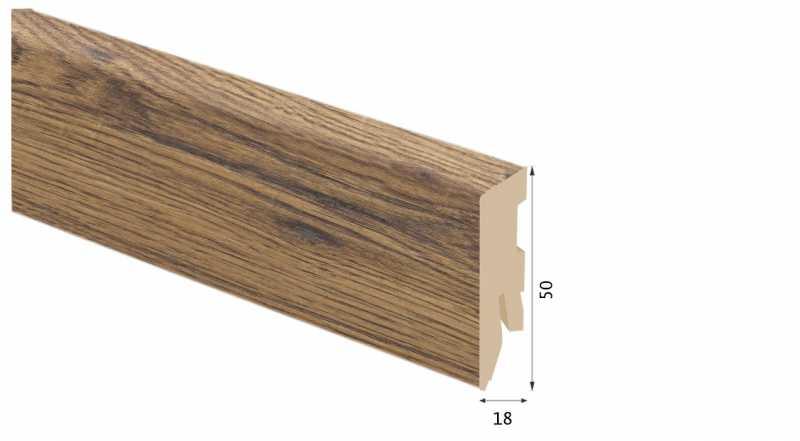 Laminuota grindjuostė Kaindl MDF Hickory Georgia 18*50 MM