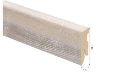 Laminuota grindjuostė Kaindl MDF Ąžuolas Vanity 18*50 MM