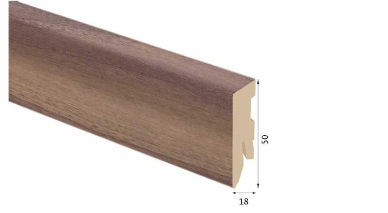 Laminuota grindjuostė Kaindl MDF Hickory Mood 18*50 MM