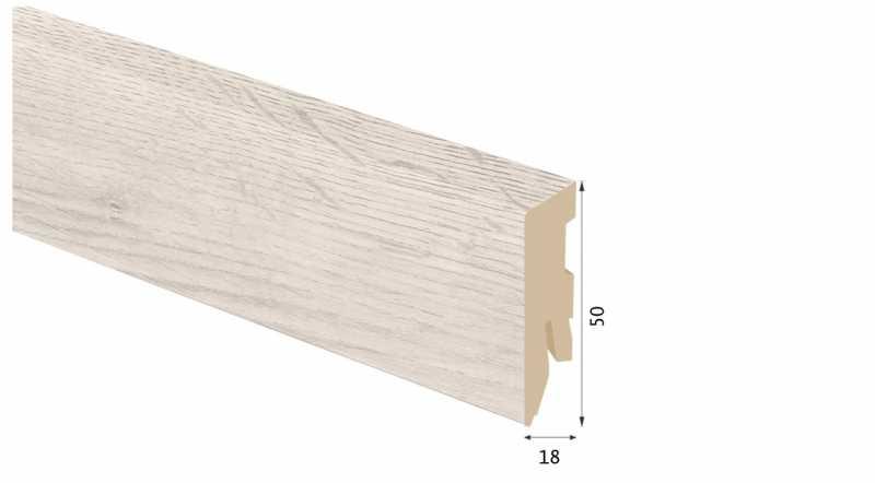 Laminuota grindjuostė Kaindl MDF Ąžuolas Palena 18*50 MM