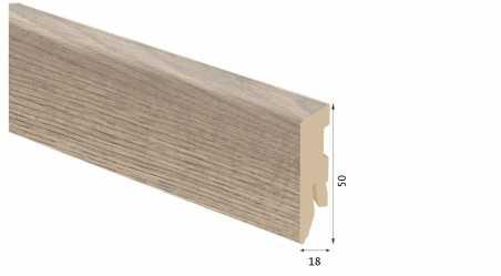 Laminuota grindjuostė Kaindl MDF Ąžuolas Reclimed Baron 18*50 MM