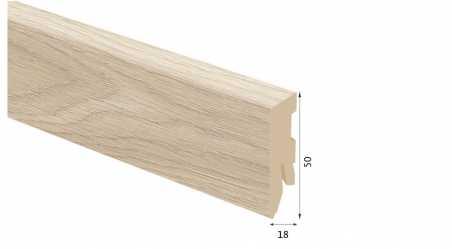 Laminuota grindjuostė Kaindl MDF Ąžuolas Conway 18*50 MM
