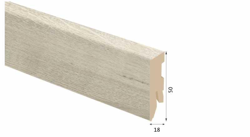 Laminuota grindjuostė Kaindl MDF Ąžuolas Oxid Flair 18*50 MM