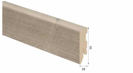 Laminuota grindjuostė Kaindl MDF Ąžuolas Multistrip Craft 18*50 MM
