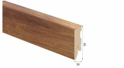 Laminuota grindjuostė Kaindl MDF Hickory Barista 18*50 MM