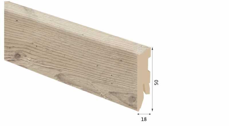 Laminuota grindjuostė Kaindl MDF Pušis Farco Vivid 18*50 MM