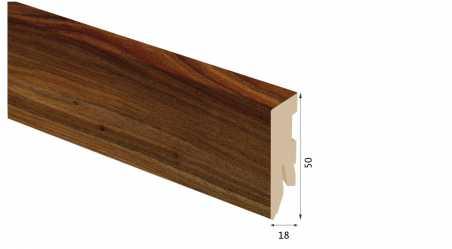 Laminuota grindjuostė Kaindl MDF Guoba Lucia 18*50 MM