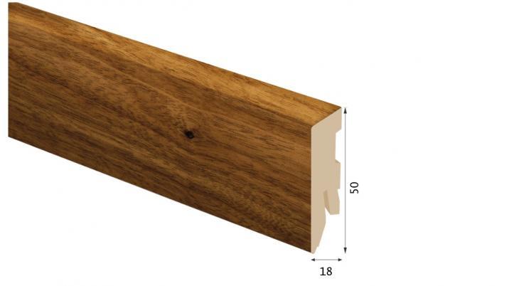 Laminuota grindjuostė Kaindl MDF Klevas Velvet 18*50 MM