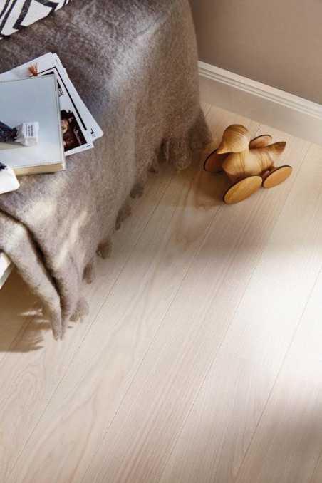 Trisluoksnė parketlentė Boen Plank Live Pure Uosis White Andante 138 MM