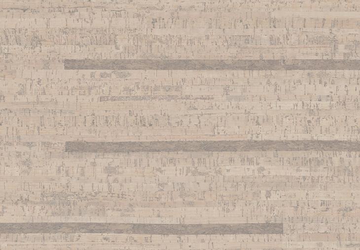 Kamštinė grindų danga Linn Antique White