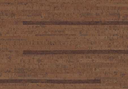 Kamštinė grindų danga Linn Chestnut