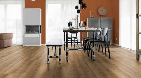 Vinilo danga Wineo 400 Wood XL Ąžuolas Mellow Comfort 4,5 MM