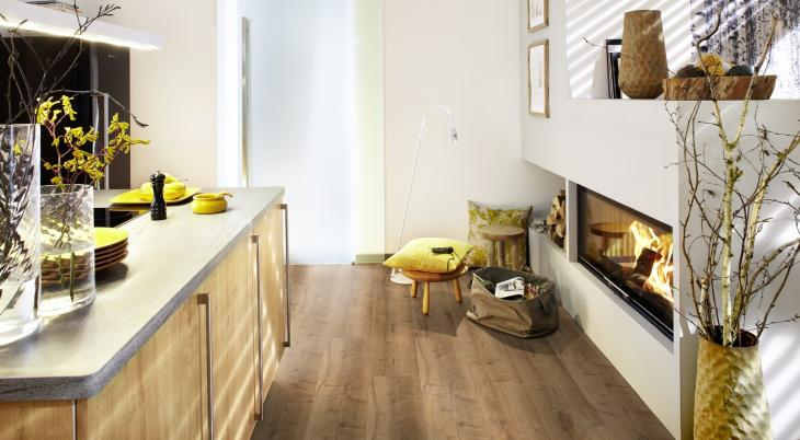 Vinilo danga Wineo 400 Wood XL Ąžuolas Mellow Comfort 9 MM