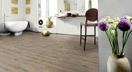 Vinilo danga Wineo 400 Wood Ąžuolas Grey Embrance 9 MM