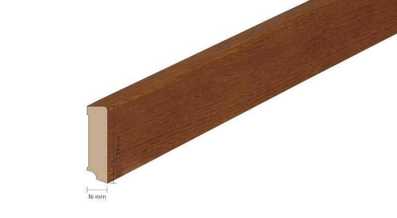 Faneruota medinė grindjuostė Boen Ąžuolas Toscana 1658 MM