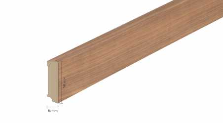 Faneruota medinė grindjuostė Boen Riešutas 16*58 MM
