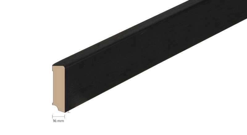 Faneruota medinė grindjuostė Boen Ąžuolas Ebony 1658 MM