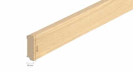 Faneruota medinė grindjuostė Boen Ąžuolas Authentic Senses 16*58 MM