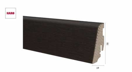 Medinė faneruota grindjuostė Haro Ąžuolas African 19*58 MM