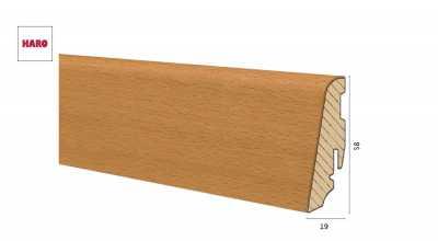 Medinė faneruota grindjuostė Haro Bukas Steamed Brushed 1958 MM