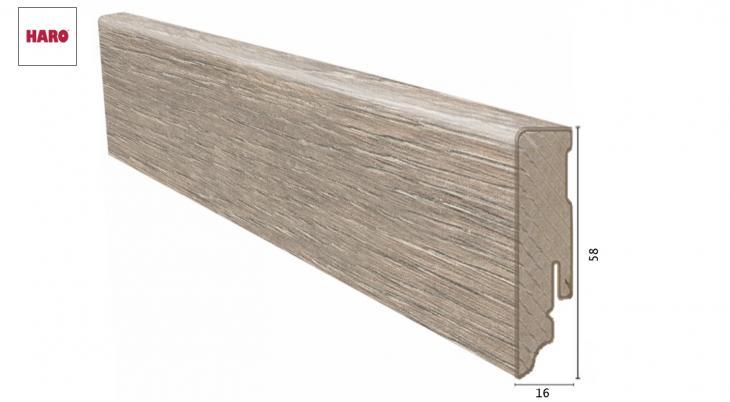 Laminuota grindjuostė Haro Ąžuolas Dover 16*58 MM