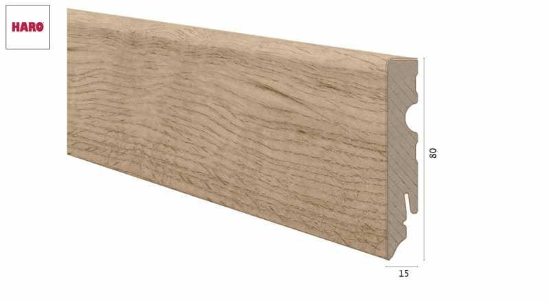 Laminuota grindjuostė Haro Ąžuolas Sicilia Puro 1580 MM