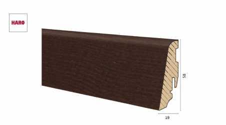 Medinė faneruota grindjuostė Haro Uosis Thermo Mezzo 19*58 MM
