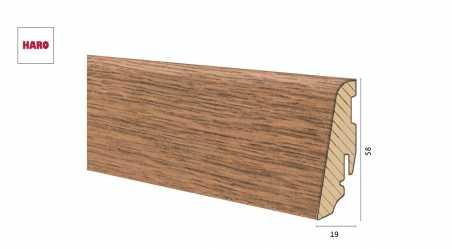 Medinė laminuota grindjuostė Disano by Haro Ąžuolas Mountain 19*58 MM