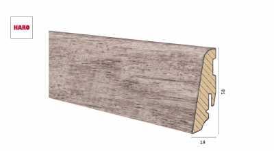 copy of Medinė laminuota grindjuostė Disano by Haro Betonas