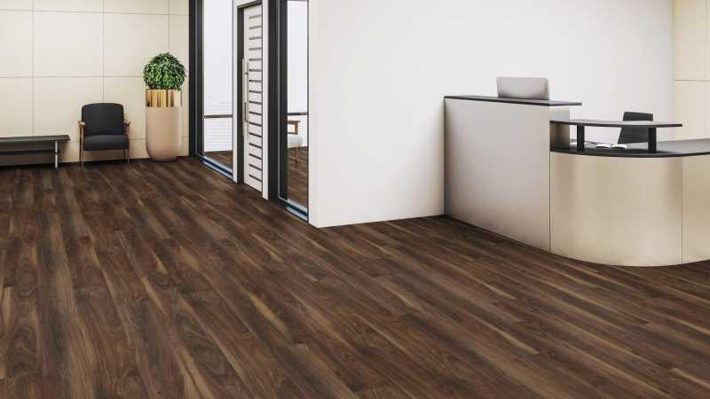 Laminuotos grindys Kaindl Classic Touch Standard 8.0 Riešutas Newport