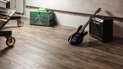 Laminuotos grindys Kaindl AquaPro Select Standard 12.0 Hemlock Barnwood Anco