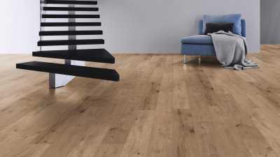 Laminuotos grindys Kaindl AQUApro Select 8.0 Standard Ąžuolas Ferrara Wildlife