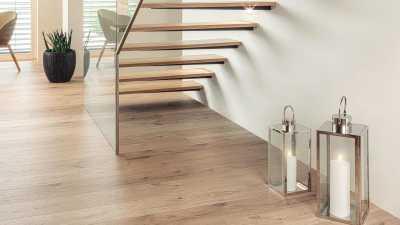 Laminuotos grindys Kaindl AQUApro Select 8.0 Standard Ąžuolas Ferrara Beachlin