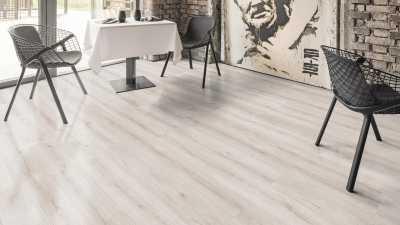 Laminuotos grindys Kaindl AQUApro Supreme 8.0 Premium Ąžuolas Evoke Snow