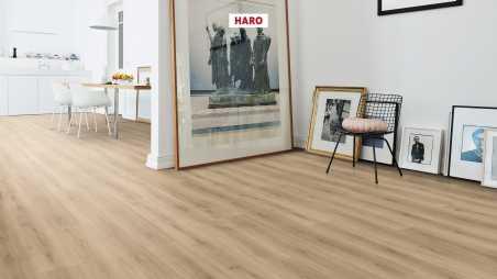 Laminuotos grindys Haro Tritty 100 Gran Via Ąžuolas Emilia Puro su akustiniu SILENT PRO paklotu