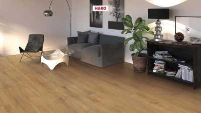 Laminuotos grindys Haro Tritty 100 Gran Via Ąžuolas Veneto Nature