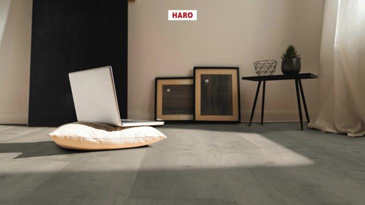 Laminuotos grindys Haro Tritty 100 Gran Via Ąžuolas Bergamo Silver Grey