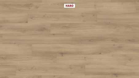 Laminuotos grindys Haro Tritty 100 Ąžuolas Emilia Puro su akustiniu SILENT PRO paklotu