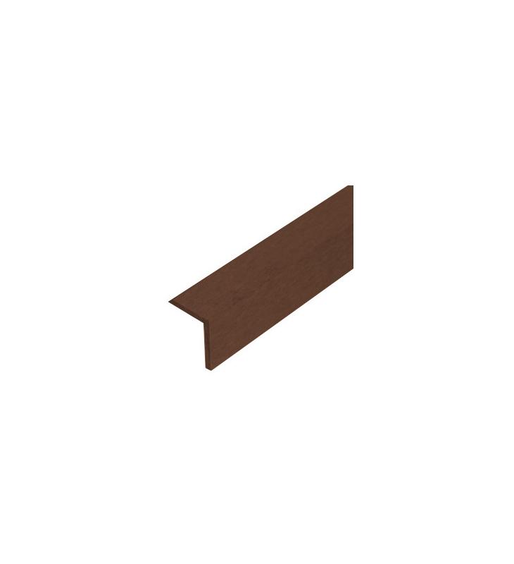 Apdailos kampas terasinėms lentoms 45x45 mm, rudas