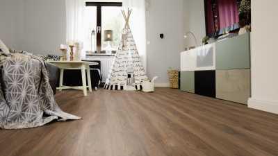 Vinilo danga Wineo 800 Wood XL Ąžuolas Cyprus Dark 2.5 MM