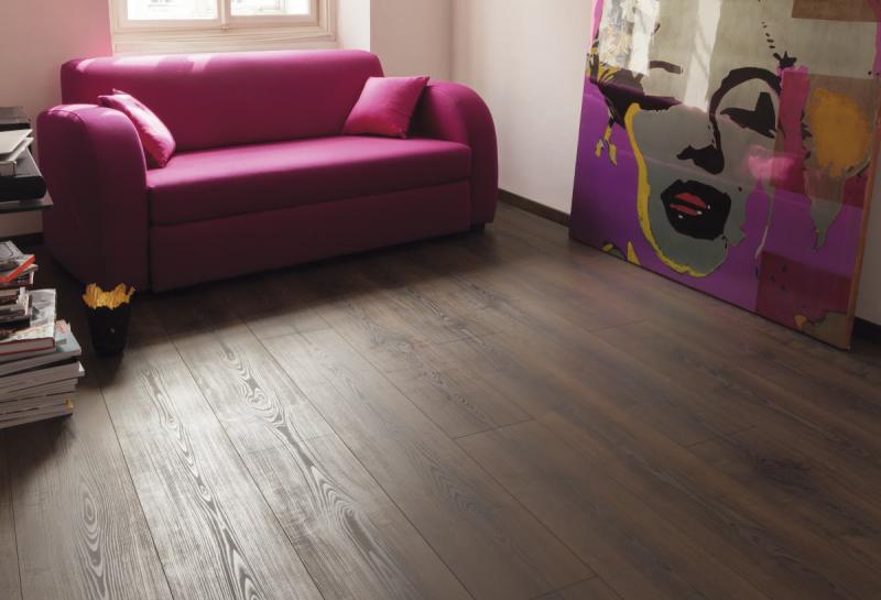 Laminuotos grindys Kaindl Classic Touch Wide 8.0 Klevas