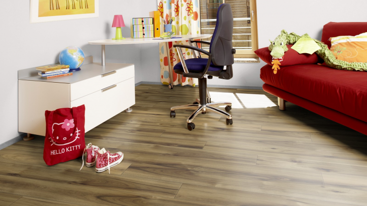 Laminuotos grindys Kaindl Easy Touch Premium 8.0 Hickory Barista