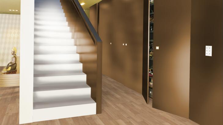 Laminuotos grindys Kaindl Classic Touch Standard 8.0 Akacija Cornsilk