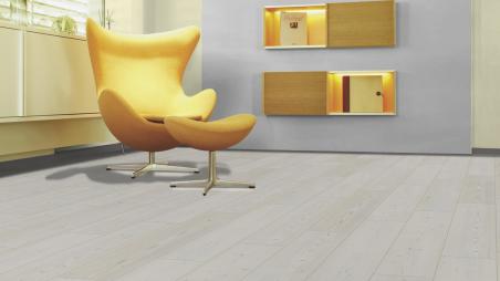 Laminuotos grindys Kaindl Classic Touch Standard 8.0 Eglė Whitewashed