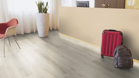 Laminuotos grindys Kaindl Classic Touch Standard 8.0 Ąžuolas Native Plain