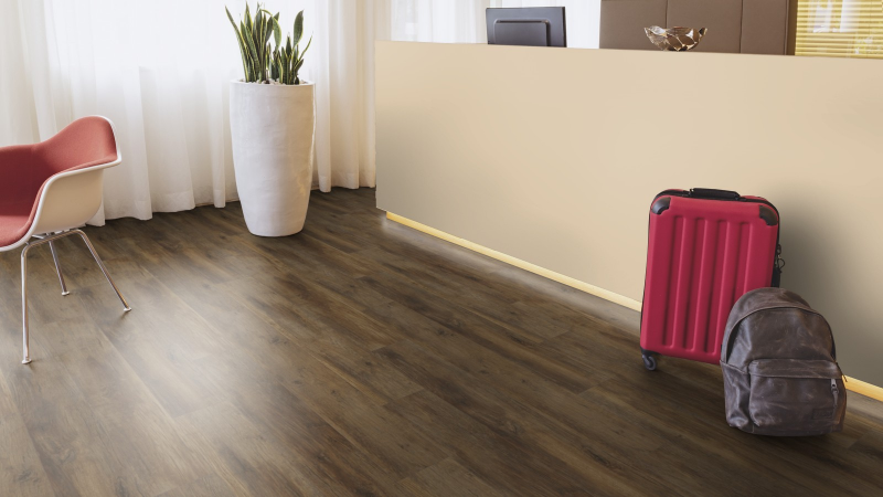 Laminuotos grindys Kaindl Classic Touch Standard 8.0 Ąžuolas