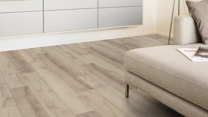 Laminuotos grindys Kaindl Classic Touch Premium 8.0 Ąžuolas Native Sand