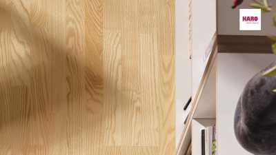Trisluoksnė parketlentė Haro Longstrip Uosis Trend nuotrauka