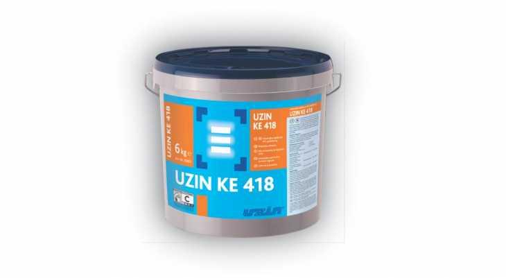 Universalūs klijai PVC dangoms UZIN KE 418, 6 kg