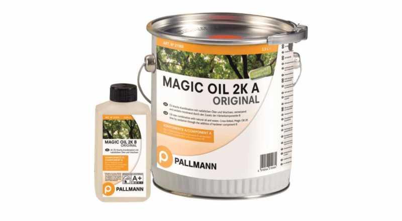 Alyva medinėms grindims Pallmann Magic Oil 2K, 1 l nuotrauka